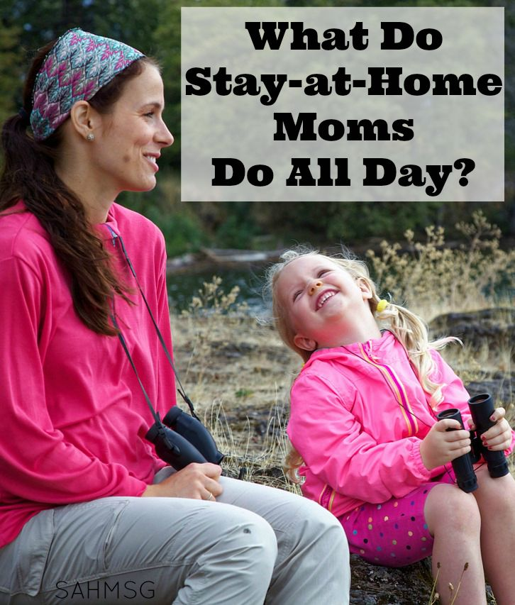 Ever been asked what you do as a stay-at-home mom all day? I have. It used to irritate me until I figured out a way to actually have an answer!