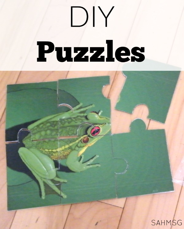 Make your own puzzles with these two DIY puzzle ideas.
