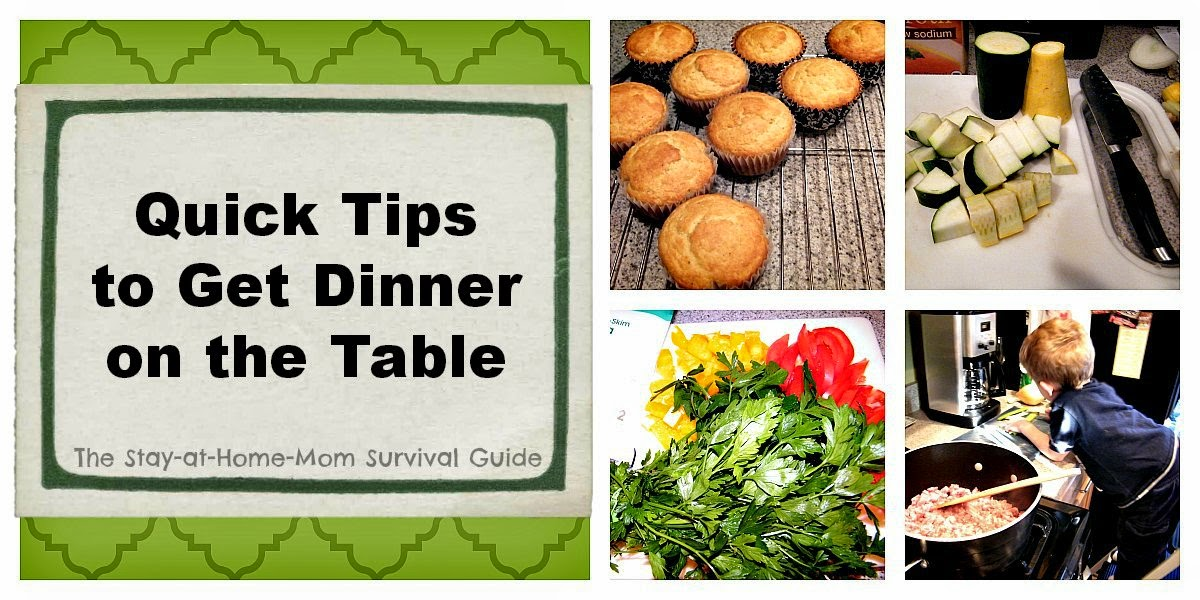 What's for Dinner? (Quick Tips to Get Dinner on the Table)
