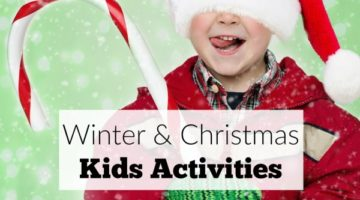 Christmas Kids Activities & Homemade Gift Ideas