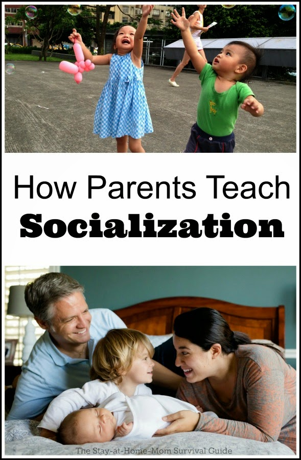Socialization is misunderstood. As parents, we teach our children socialization skills, we are better examples than same-age peers.