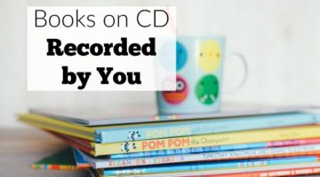 Record books on CD for your child with free download audio software,. Great for kids whose parents travel or as a family involvement activity in preschool.