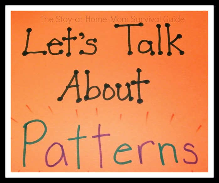 Pattern activities for infants, toddlers and preschool kids plus why patterns are important.