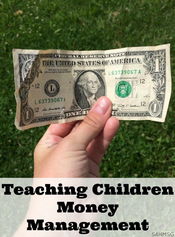 Teaching children money management skills is simple with these 6 tips for parenting children and teaching them to be responsible with money.