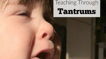 Teaching Through Tantrums