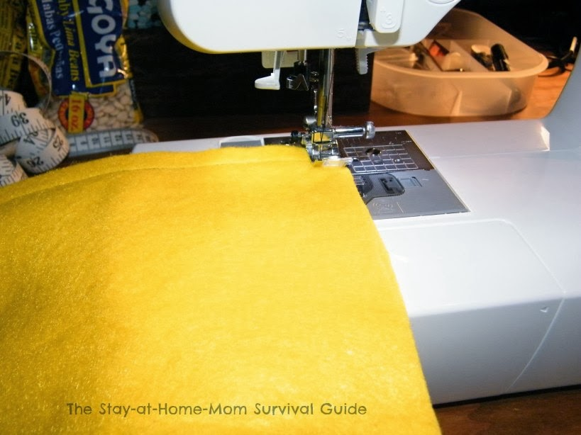 DIY bean bags from The Stay-at-Home-Mom Survival Guide