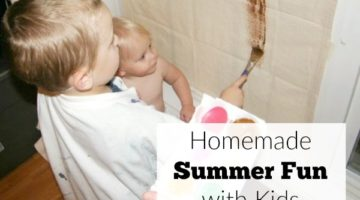 Homemade Summer Fun with Kids