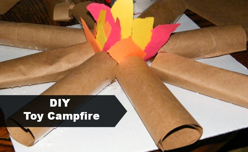 Camp-In Indoor Camping Activity for Kids