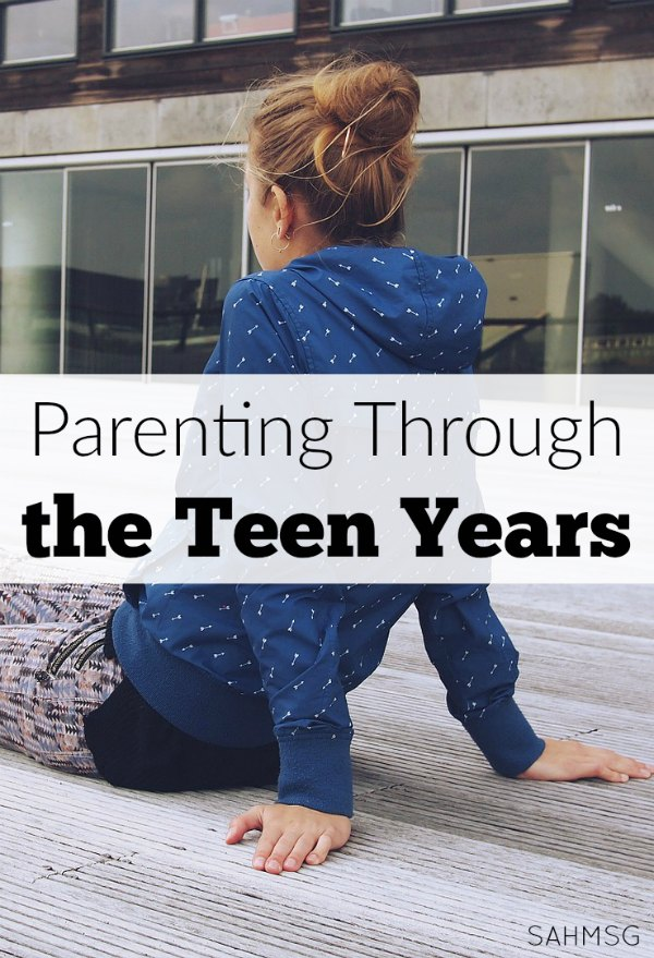Parenting through the teen years.