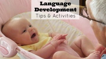 Infant Language Development Tips and Activities