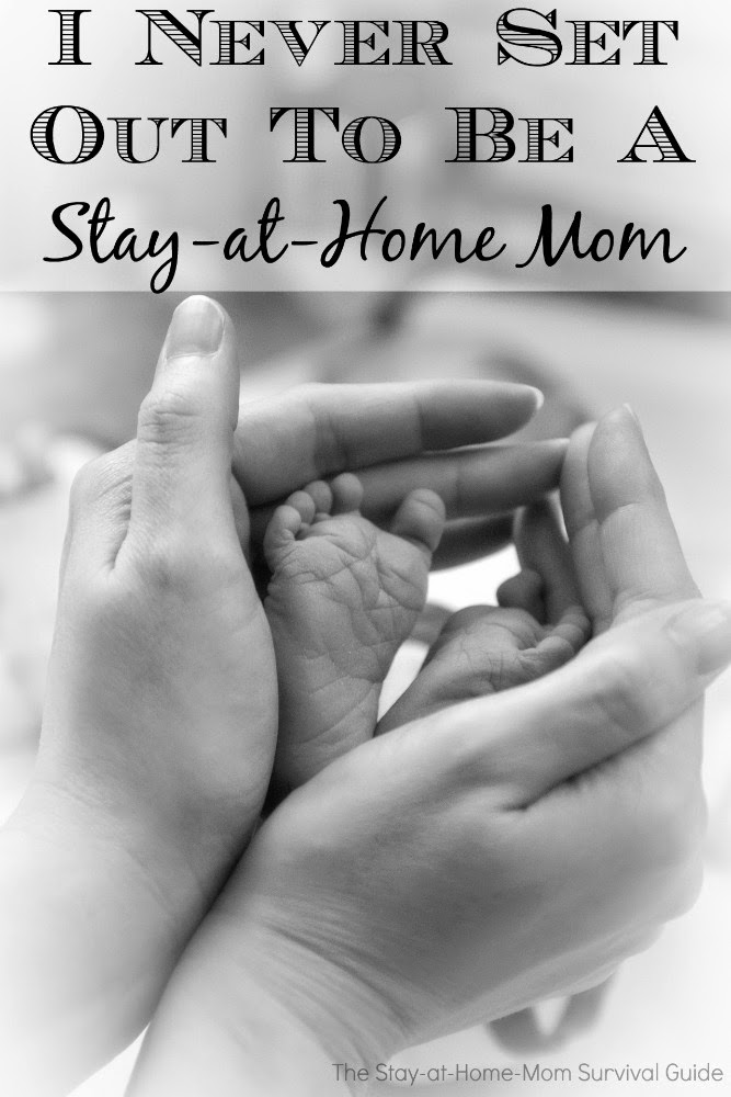 I never set out to be a stay-at-home mom. Living with a chronic illness chose for me.