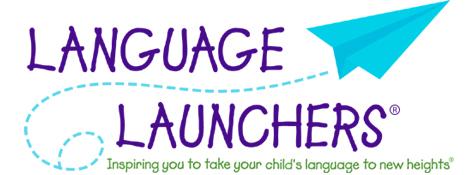 Spark your infants language development with Language Launchers tips and activities for infant language development.
