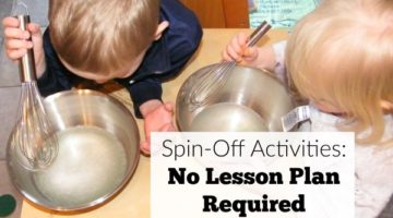 Spin-Off Activities: No Lesson Plan Required