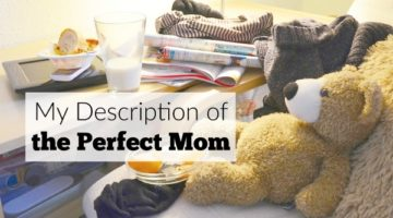 My Description of the Perfect Mom
