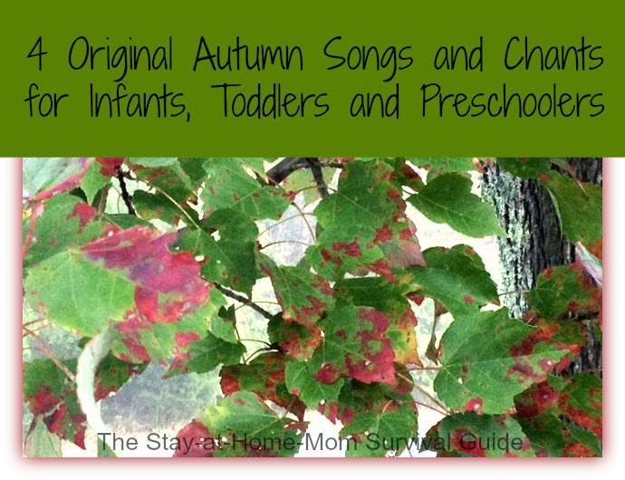4 Original Autumn Songs and Chants for Infants, Toddlers, and Preschoolers