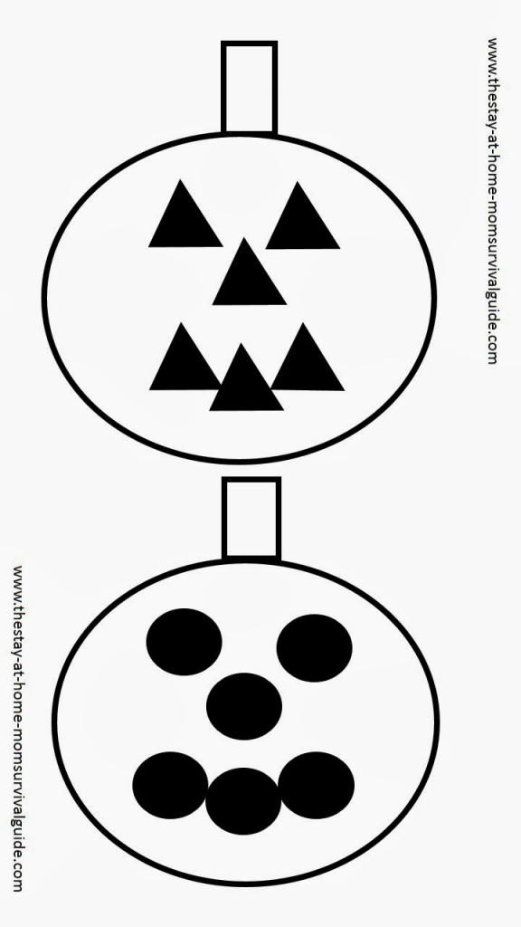 infant contrast cards for autumn infant activity