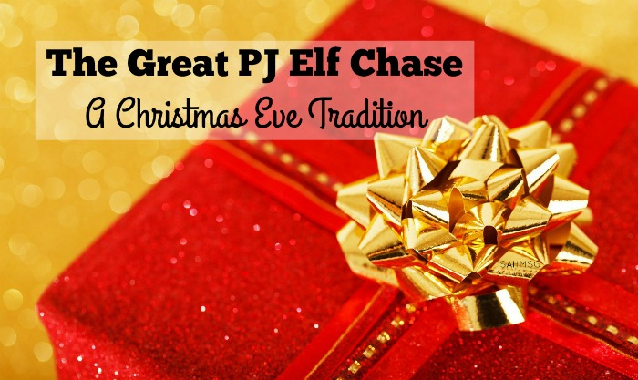 A fun Christmas Eve tradition for older kids-The Great PJ Elf Chase will appeal especially to curious boys who love scavenger hunts! This book and gift idea is a fun Christmas family tradition.