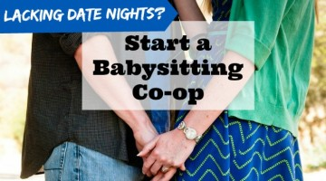 Need a babysitter? Get the details on how to start, organize and use a babysitting co-op with friends. A great guide to starting a babysitting co-op!
