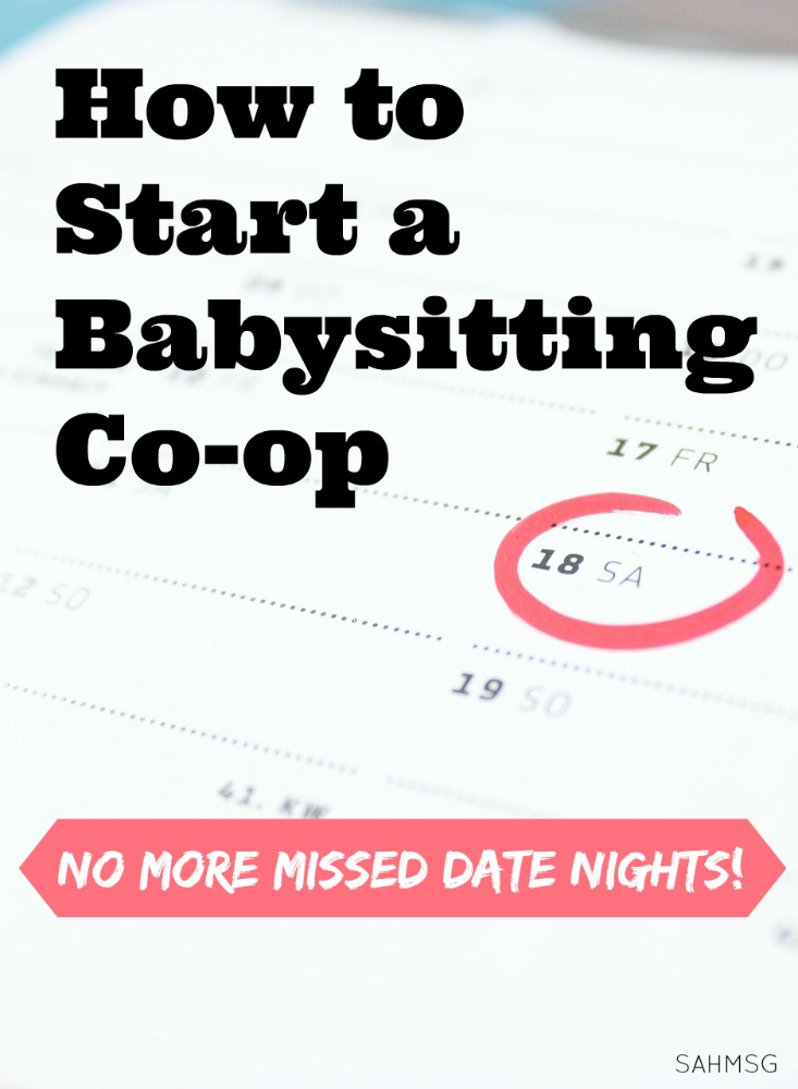 How to start a babysitting co-op so you never have to miss a date night or doctor's appointment again!