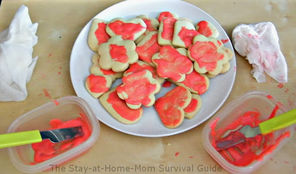 Make sugar cookies and let the kids decorate them with these tips...