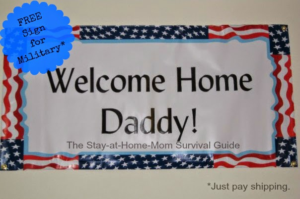 BuildASign.com Offered A Free Sign For Military Families. We Only Had To  Pay Shipping. They Still Offer That Deal Now. Not Military?