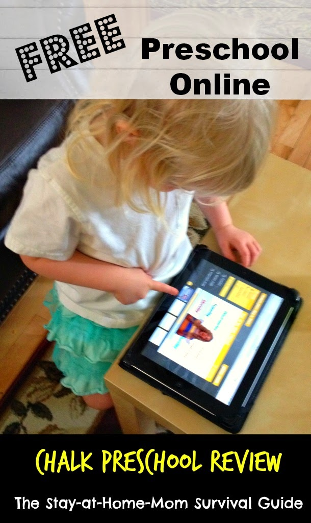 FREE Preschool Online: CHALK Preschool Review