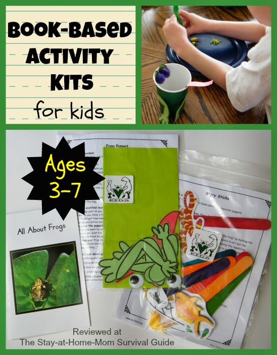 Book-Based Activity Kits for Kids: Ivy Kids Review