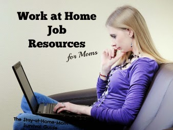 Work at Home Job Resources
