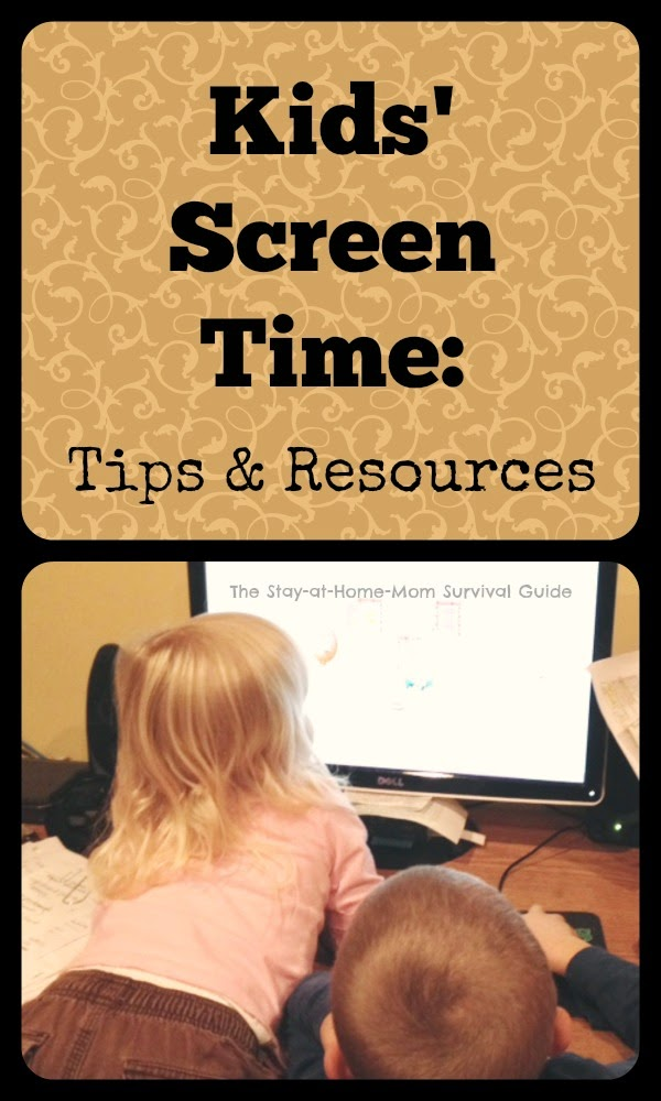 Teaching children balance in their use of technology and balancing their screen time. Resources and tips plus a giveaway for a limited time only.