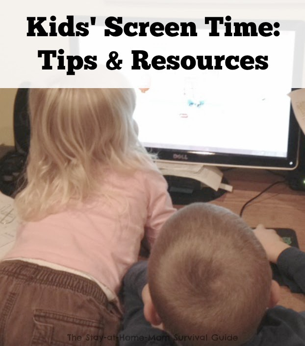 Kids and Screen time-tips and resources for teaching healthy habits and finding balance. A book giveaway is included for a limited time only!