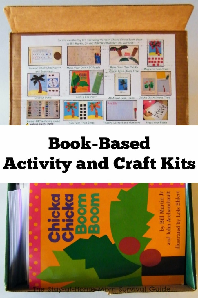 book based activity and craft kits for kids the stay at home mom
