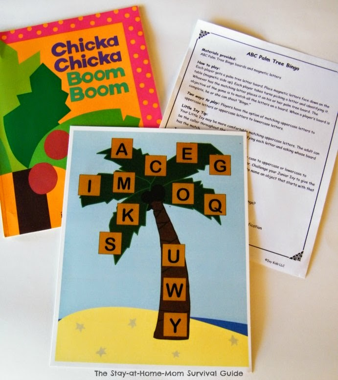 Fun book-based activity kits from Ivy Kids are like preschool in a box. Great for mixed age groups at home, in daycares or at playdates. My kids love these kits.