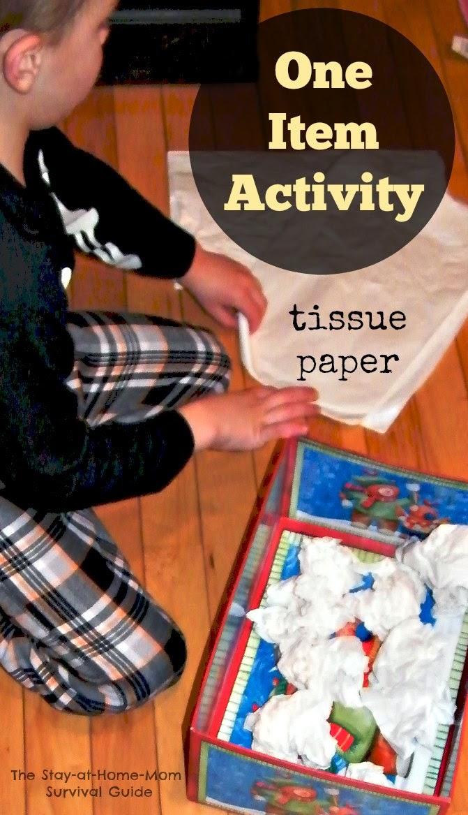 One Item Activity: Tissue Paper