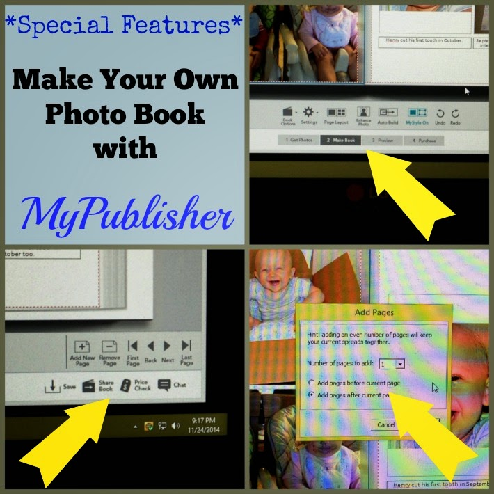 Make your own photo book gifts with MyPublisher-6 ideas plus one organizational tip! This program has great features for creating personalized gifts.