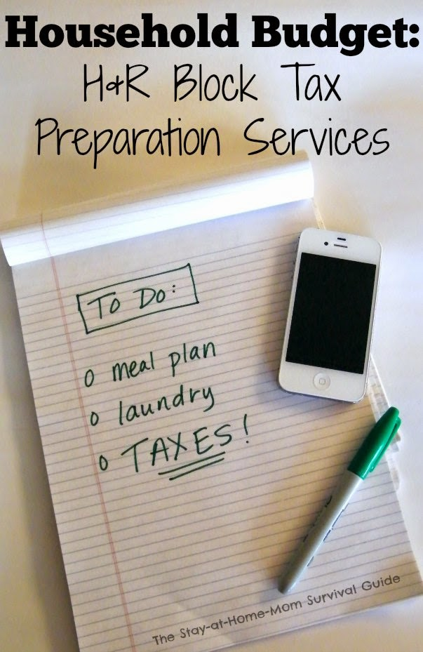 Take an active role in your family's finances-tax preparation and H&R Block Online Preparation Services are a great resource for tax filing.