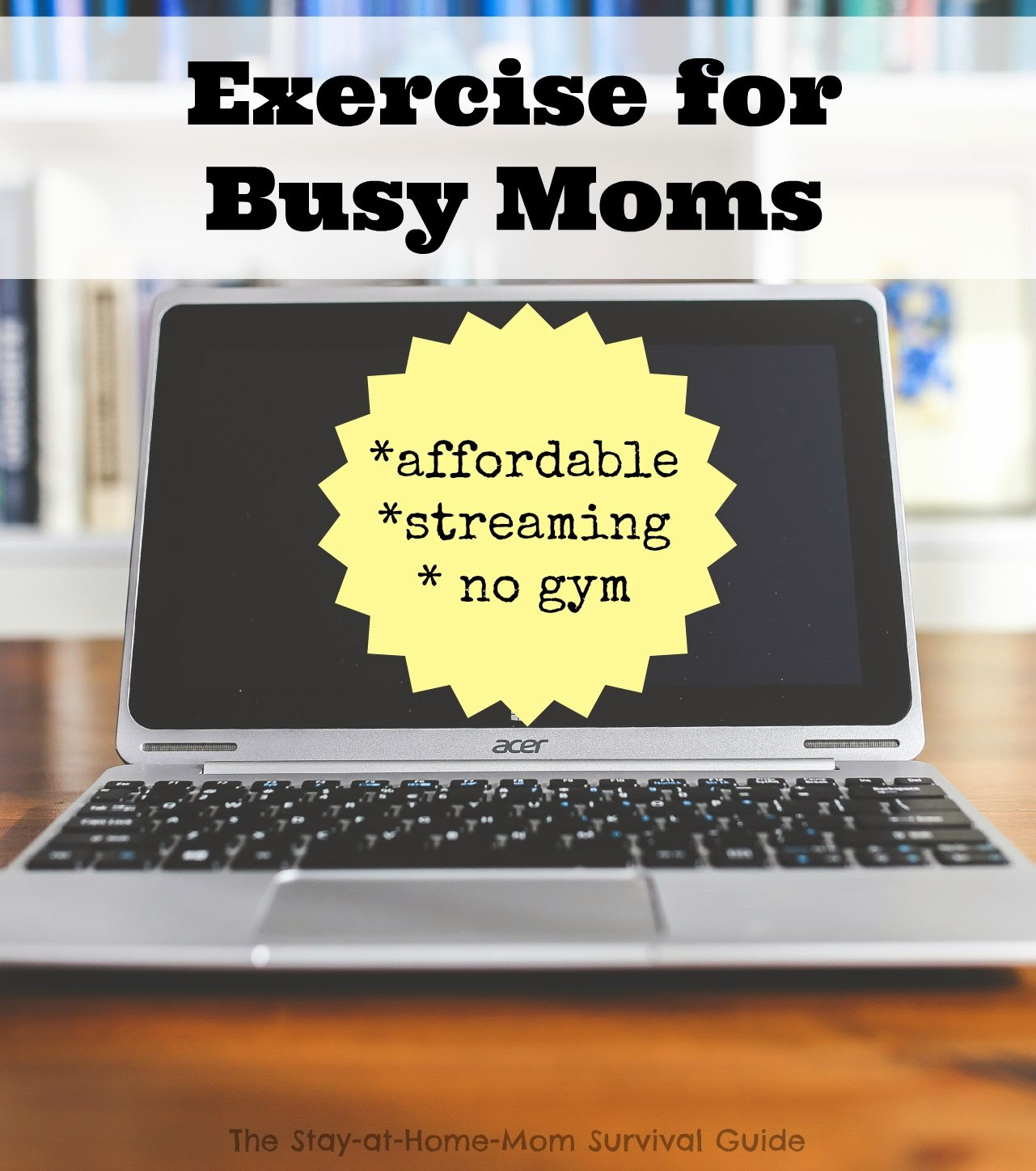Exercise for Busy Moms: Fitfusion Review