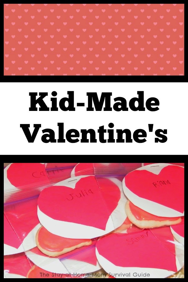 Really simple homemade Valentine's that kids can make-great non-candy ideas and extensions to personalize them.