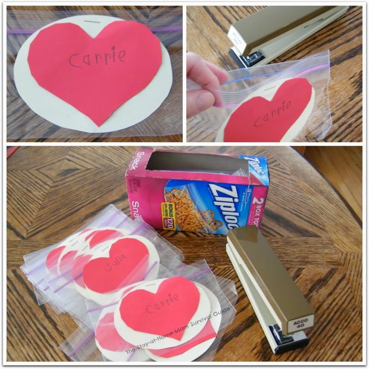 Not-so-Crafty moms, check this Valentine idea out! Simple and can be decorated however you want. Kids can make them!