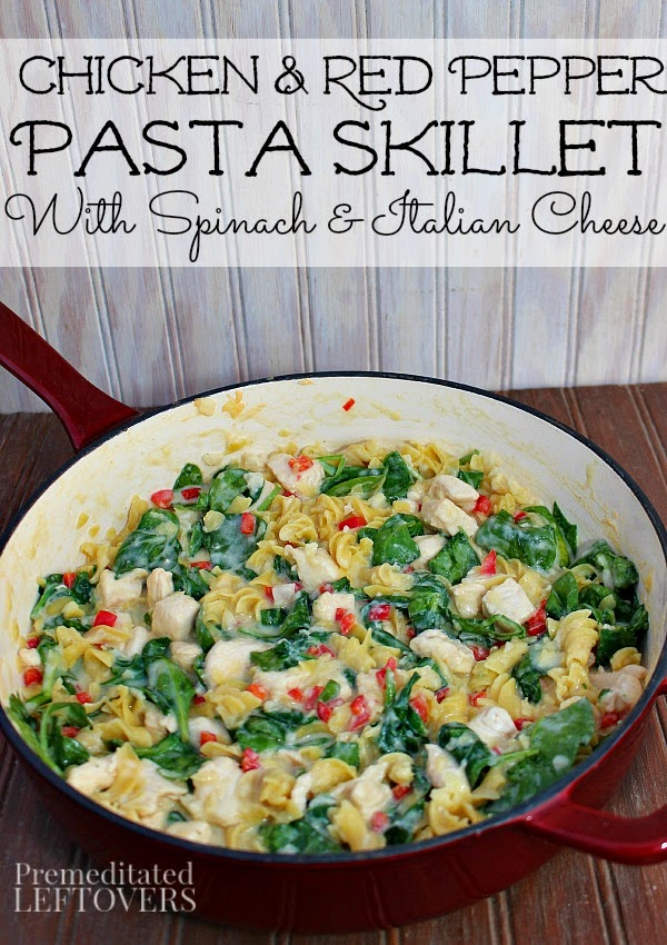 Chicken Pasta Recipe in the Wonderful Wednesday Blog Hop #113