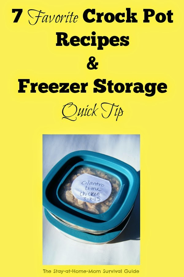 These crock pot recipes are so easy, freeze really well, and they are loved by my kids as well. Plus check out this food storage tip to reduce cost and waste.