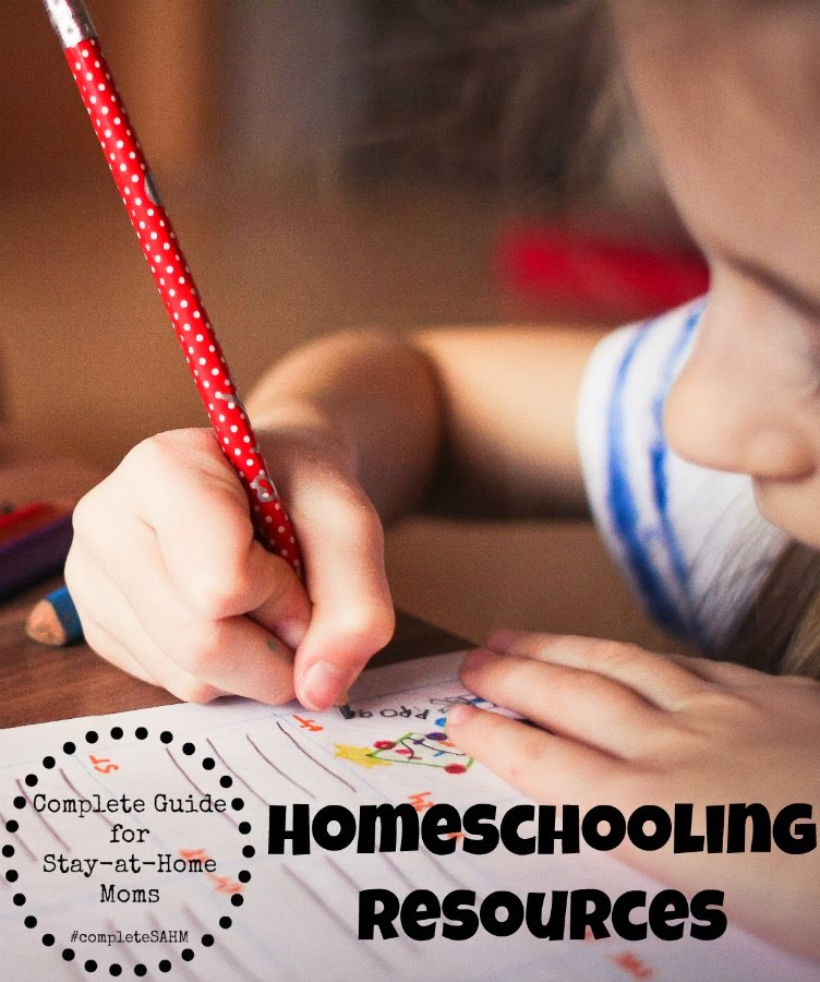 Homeschooling Resources for moms. A huge list of tips, support and resources for homeschooling your children.