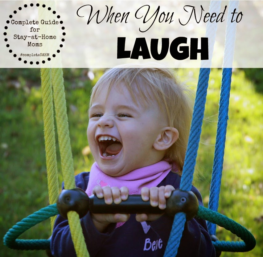 Funny moments of motherhood that will make you laugh-part of the Complete Guide for Stay-at-Home Moms series.