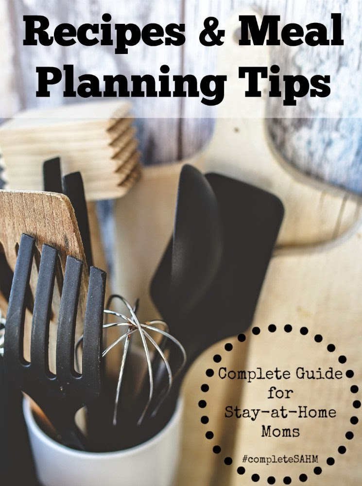 Recipes and Meal Planning tips from experienced homemakers.