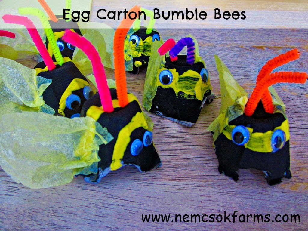 bumblee craft and free printable birds lesson plan for preschool