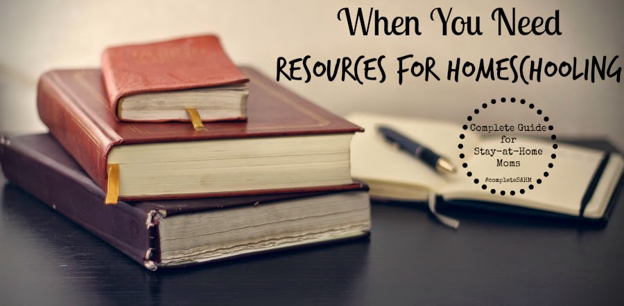 40 Resources for homeschooling your children from homeschooling stay-at-home moms.