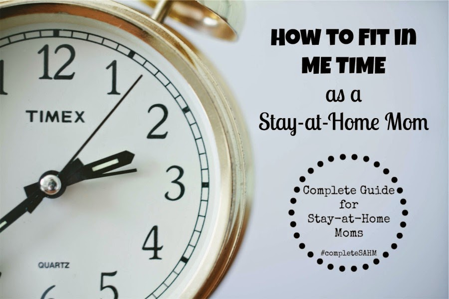 "Me Time ideas-how to fit in ""me time"" as a mom."