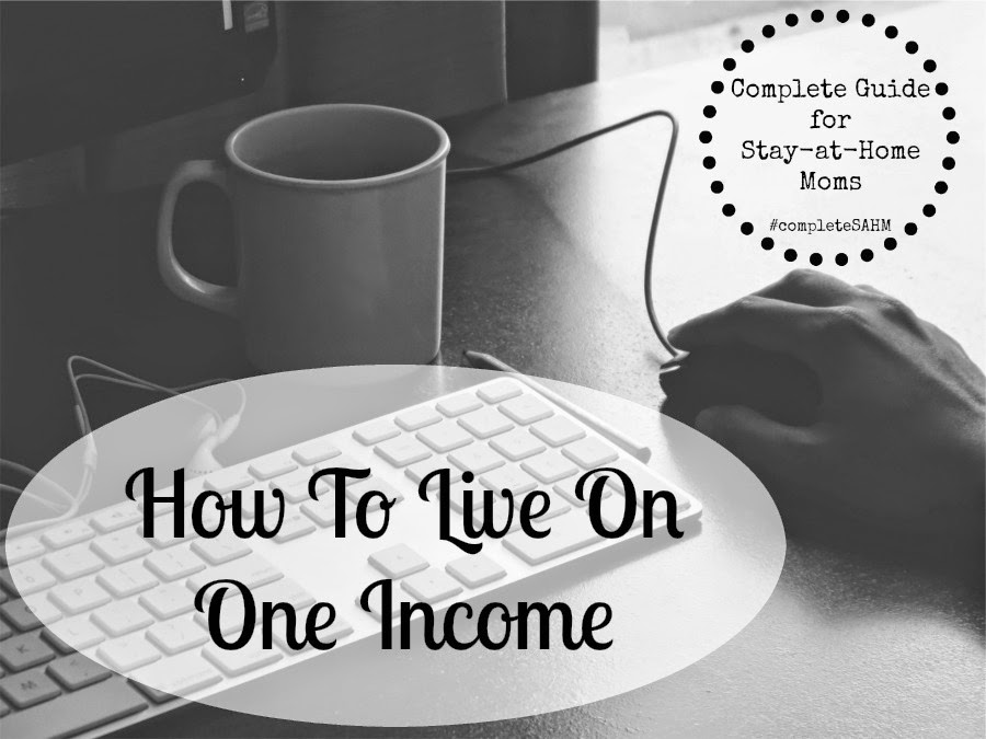 Resources for creating a home budget, cutting costs, saving money, and work at home options in a resource for living on one income.