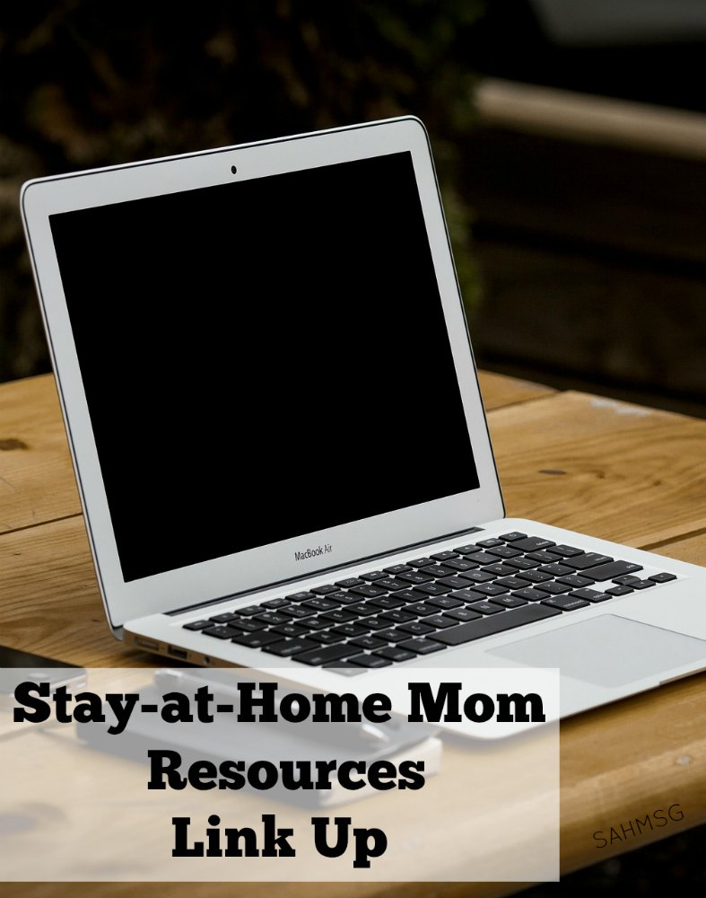 Link up your posts about being a stay-at-home mom, for stay-at-home moms and by stay-at-home mom bloggers.