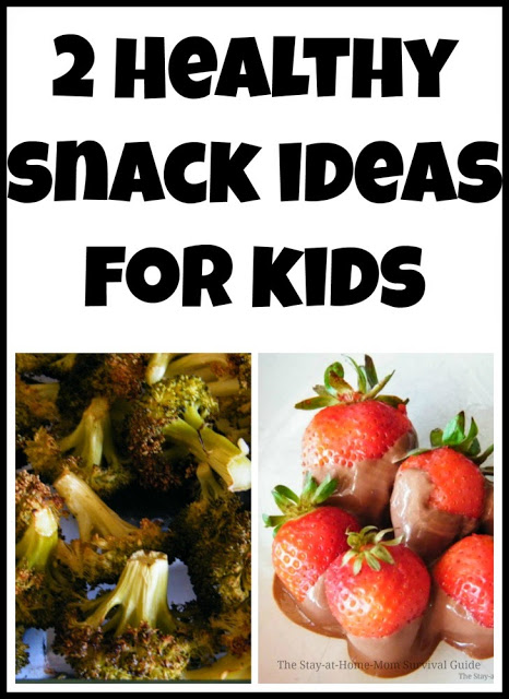 My picky eaters loved these healthy snacks! They are great for adults too-very yummy...healthy chocolate dipped strawberries? Count me in!