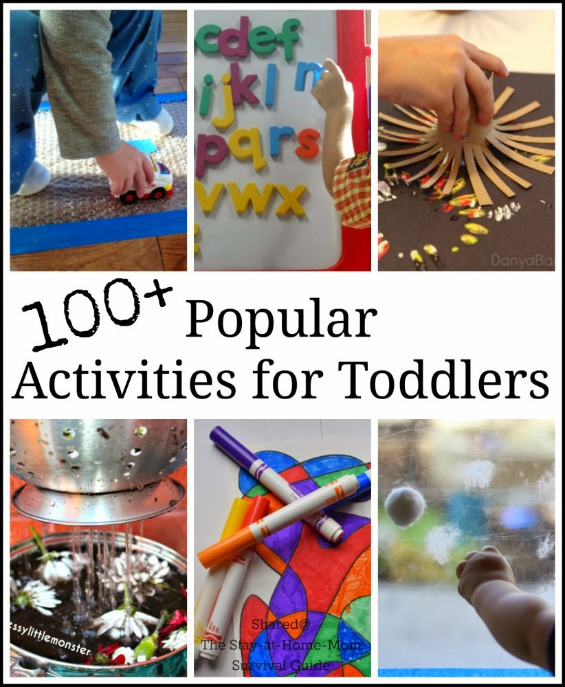 toddler activities the stay at home mom survival guide